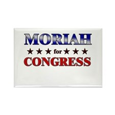 MORIAH for congress Rectangle Magnet