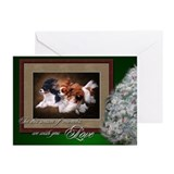 Cavalier king charles spaniel christmas Greeting Cards (20 Pack)