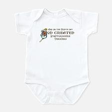 God Created Staffords Infant Bodysuit