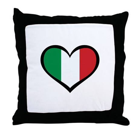 Italy Love Throw Pillow