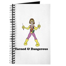 Yarned & Dangerous Knitting Hero Journal