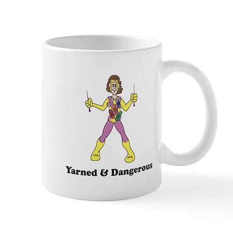 Yarned & Dangerous Knitting Hero Mug