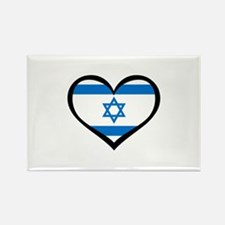 Israel Love Rectangle Magnet