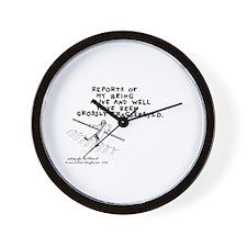 196 Wall Clock