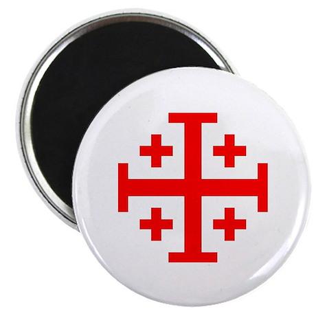 Crusaders Cross (Red) Magnet