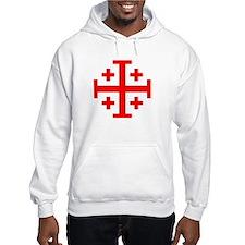 Crusaders Cross (Red) Hoodie