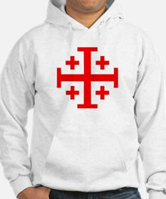 Crusaders Cross (Red) Hoodie