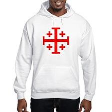 Crusaders Cross (Red) Jumper Hoody