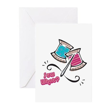 So (Sew) What? Design Greeting Cards (Pk of 10)