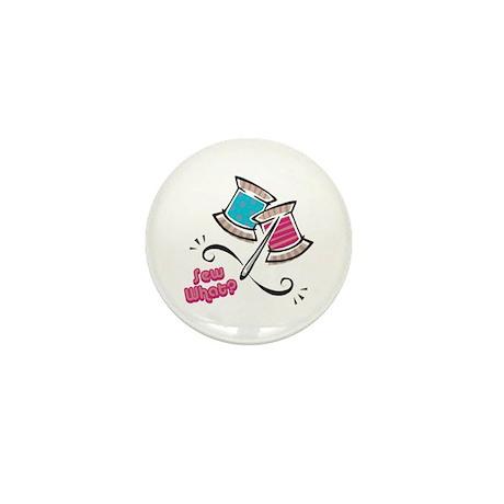 So (Sew) What? Design Mini Button (100 pack)