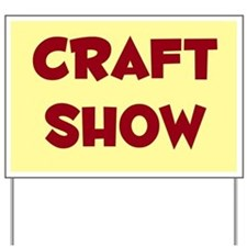 Craft Show Sign