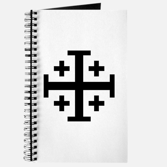 Crusaders Cross (Black) Journal