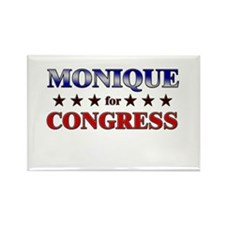 MONIQUE for congress Rectangle Magnet