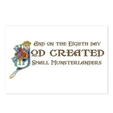 God Created Moonsters Postcards (Package of 8)