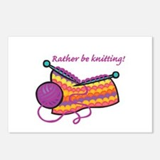 Rather Be Knitting Design Postcards (Package of 8)