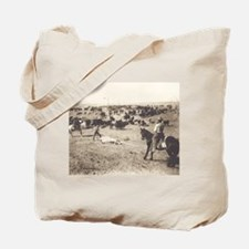 Branding Cattle Tote Bag