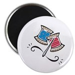 Cute Needle & Thread Design Magnet