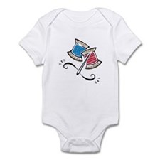Cute Needle & Thread Design Infant Bodysuit