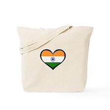 India Love Indian Tote Bag