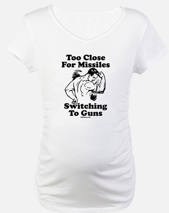 Too Close For Missiles, Switc Shirt
