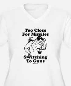 Too Close For Missiles, Switc T-Shirt