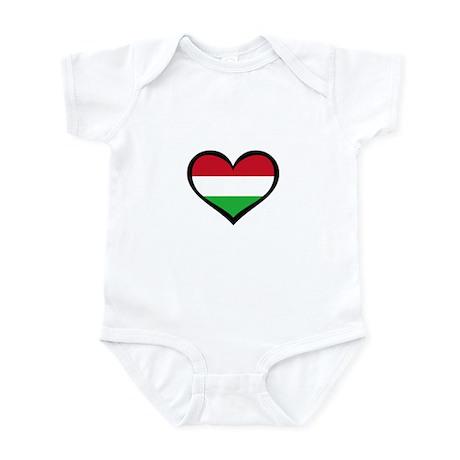 Hungary Love Infant Bodysuit