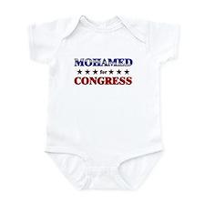 MOHAMED for congress Infant Bodysuit