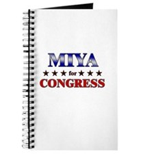 MIYA for congress Journal