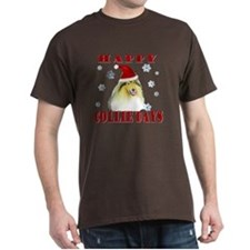 Happy Collie Days Christmas T-Shirt