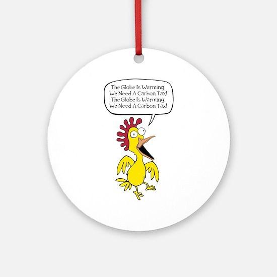 Liberal Chicken Littles Ornament (Round)
