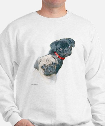 Two Pugs Sweatshirt