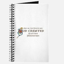 God Created Deerhounds Journal