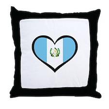 Guatemala Love Throw Pillow