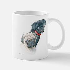 Two Pugs Mug