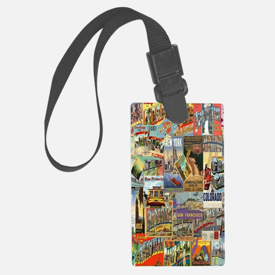 Funny Travel Large Luggage Tag