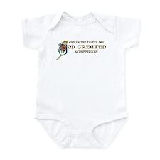 God Created Schipperkes Infant Bodysuit