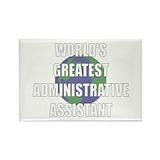 World's Greatest Administrati Rectangle Magnet