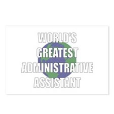World's Greatest Administrati Postcards (Package o