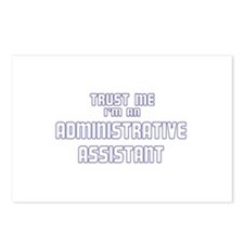 Trust Me I'm an Administrativ Postcards (Package o