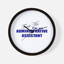 Trust Me I'm an Administrativ Wall Clock