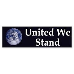 United We Stand (Earth bumper sticker)