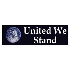United We Stand (Earth bumper sticker)