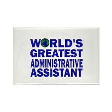 World's Greatest Administrati Rectangle Magnet (10