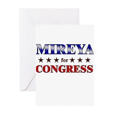 MIREYA for congress Greeting Card