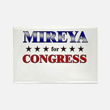 MIREYA for congress Rectangle Magnet