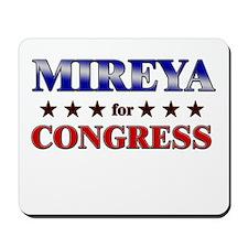 MIREYA for congress Mousepad