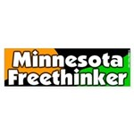 Minnesota freethinker bumper sticker