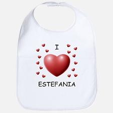 I Love Estefania - Bib