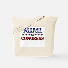 MIMI for congress Tote Bag