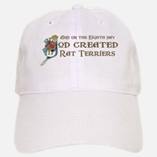 God Created Terriers Baseball Baseball Cap